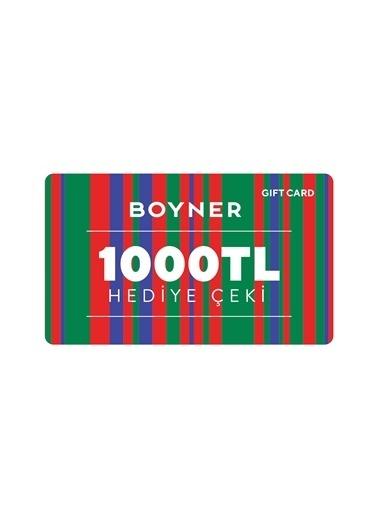 Boyner Gift Card 1000 TL Gift Card Renksiz